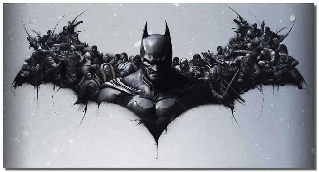 Batman Wall Canvas Art