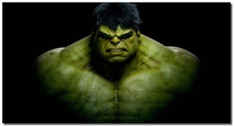 Incredible Hulk Canvas Art Digital Print