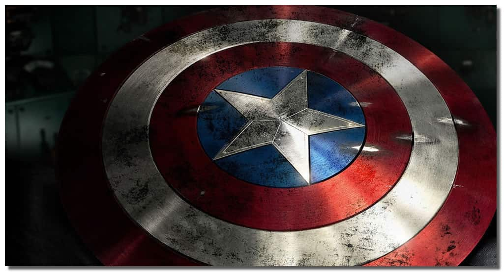 Captain America Shield Drawing: Captain America Shield Marvel Avengers Age Of Ultron