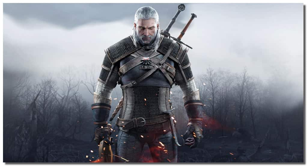 The Witcher 3 Wild Hunt Geralt Of Rivia Wall Canvas Art