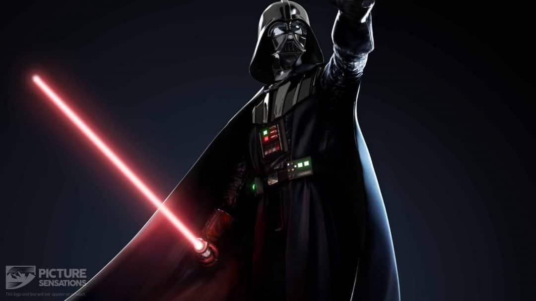 Darth Vader Lightsaber Star Wars Movie Wall Canvas Art