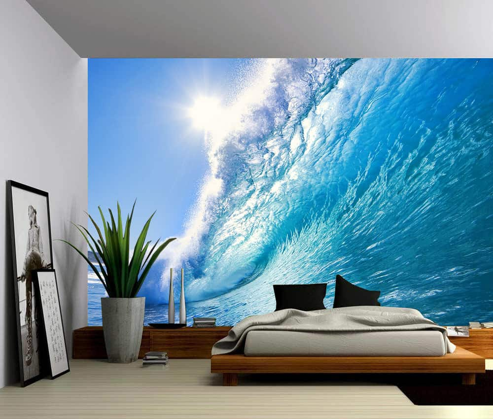 Wall Murals Product : Ocean wave wall mural picture sensations