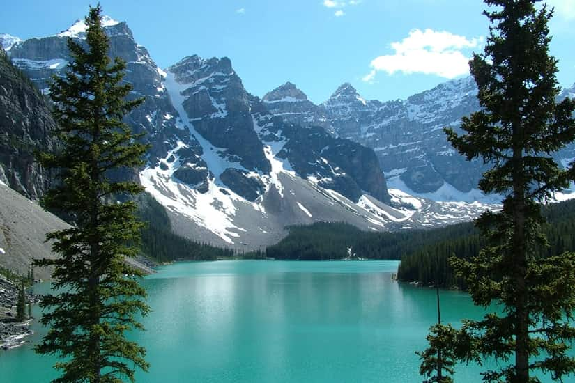Banff Canada Rocky Mountain Lake Landscape Self Adhesive