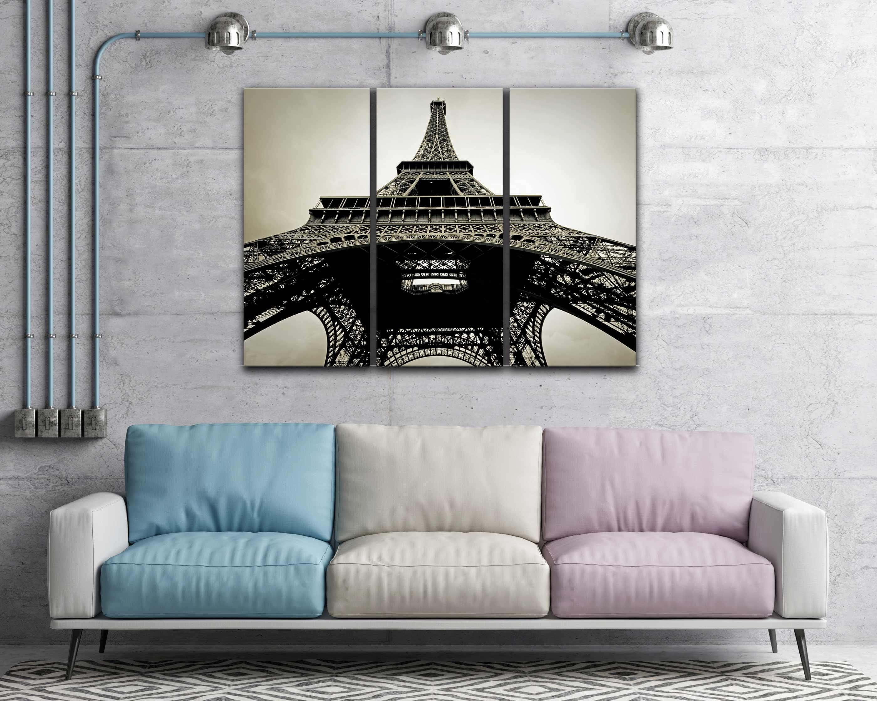 Eiffel tower canvas art picture sensations eiffel tower canvas art jeuxipadfo Images